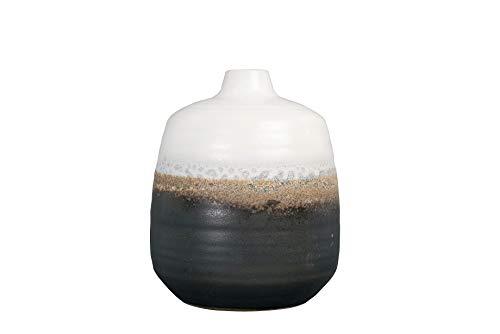 jarrón negro fabricante Bloomingville
