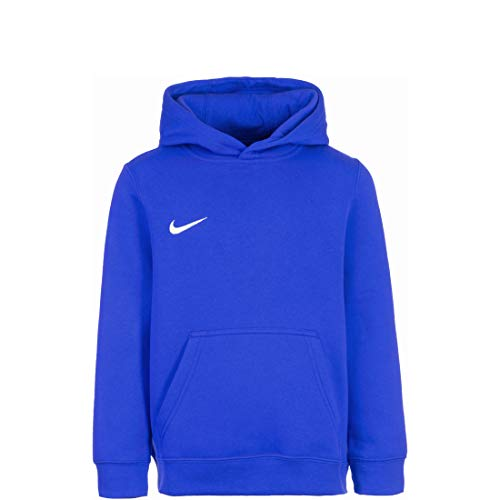 NIKE Y Hoodie Po FLC TM Club19 Sudadera, Niños, Royal Blue/Royal Blue/White/White, L