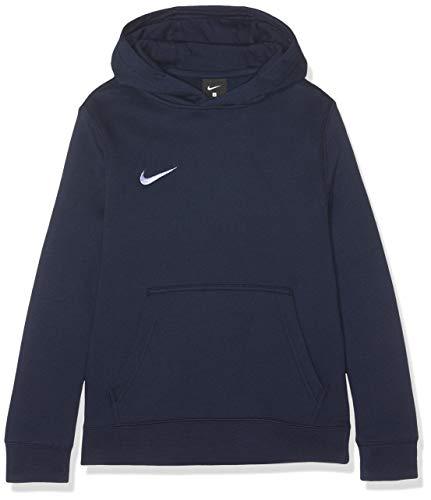 Nike Unisex-Kinder Hoodie Po Fleece Tm Club19 Kapuzenpullover, Blau (Obsidian/White/451), XL (158-170 cm/14 Jhare)