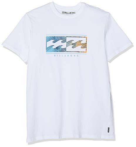 Billabong Herren Kurzarm-t-Shirt Inversed SS, White, M, N1SS08 BIP9 10