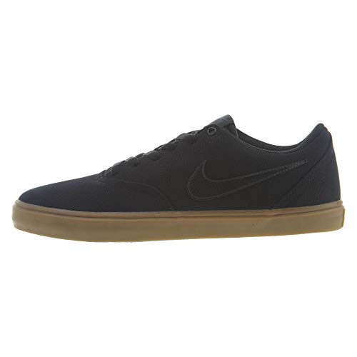Nike SB Check Solar Cnvs, Zapatillas de Skateboarding para Hombre, Multicolor (Black/Black/Team Red 007), 42 EU
