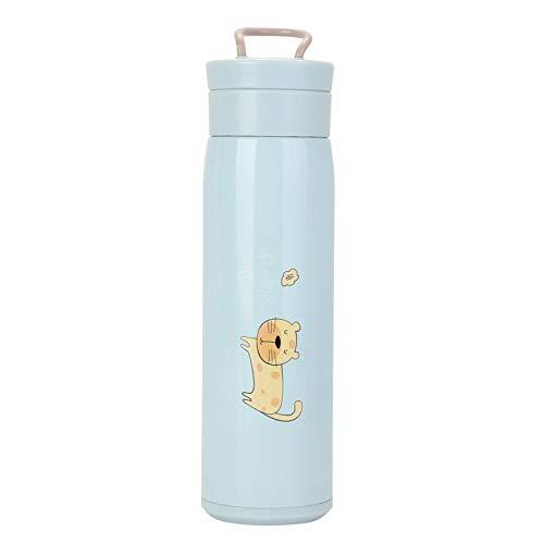 Botella de vacío de viaje Botella de agua de vacío de viaje Taza de vacío de viaje Acero inoxidable 7 * 23.8 cm / 2.8 * 9.4in para viajes, al aire libre(blue)