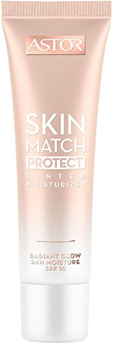 Astor Skin Match Protect Tinted Moisturizer, Farbe 001 Light/Medium, 1er Pack