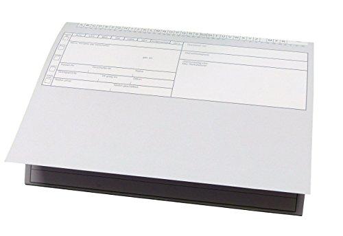 100 Stück Patientenkarteikarten Karteikarten in dezentem Grau - geschlossen DIN A5 für Krankengymnastik / Physiotherapie / Ärzte (22699)
