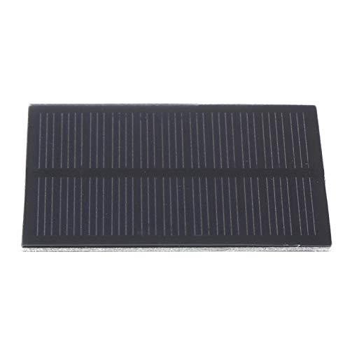 SALUTUYA Cargador de Panel Solar al Aire Libre con Carga Solar Plegable para Acampar Impermeable Mini Ligero 0.5W 5.5V Pet portátil 3pcs para teléfonos celulares, iPhone, iPad