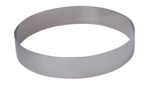 DeBuyer Rahmen, Edelstahl, Silber, 24 cm