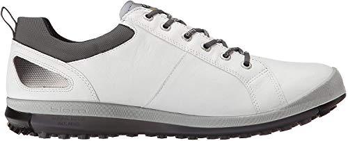 Ecco ECCO Herren Men's Golf Biom HYBRID 2 Golfschuhe, Weiß (51227WHITE/BLACK), 42 EU