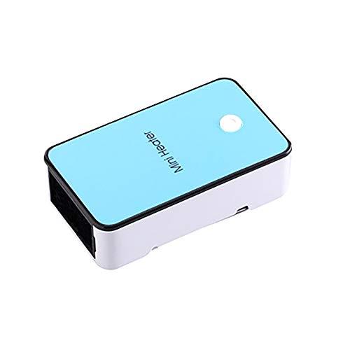 jessboyy Heizlüfter,Mini Keramik Heizlüfter Tragbare Elektroheizung mit 200W-Heizmodi, Überhitzungsschutz für das Heimbüro