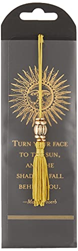 Sun Beaded Bookmark