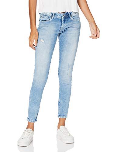 Pepe Jeans Damen Cher Skinny Jeans, Blau (000denim), 25W / 28L