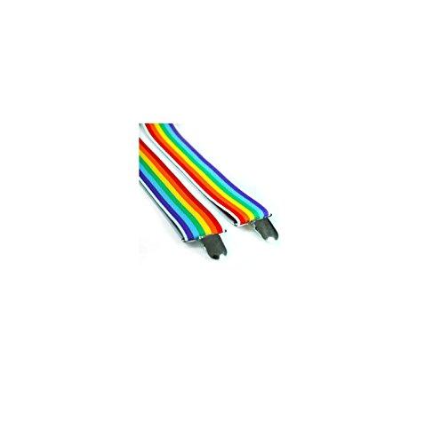 Mytoptrendz Bretelles de Style rétro unisexe avec beaucoup de Style et couleur Multicolore - Taille unique