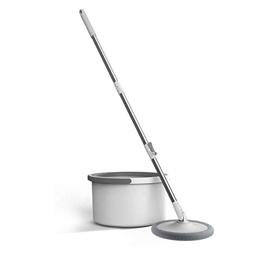 Raxxio Clean Water Spin Mop with a Separate Water Bucket, Suitable for All Types of Flooring, Separates Dirty and Clean Water, a New Invention to Clean Your Home.