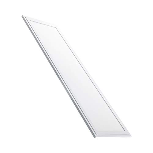 Panel LED Slim 120x30cm 40W 5200lm High Lumen Blanco Cálido 2800K - 3200K