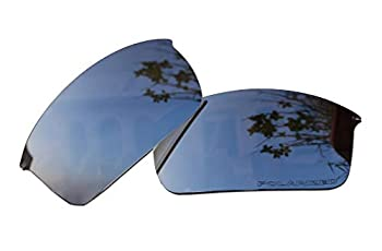 Sunglasses Polarized Lenses Replacement for Oakley Wiretap New OO4071 Sunglasses Black Mirror Coatings