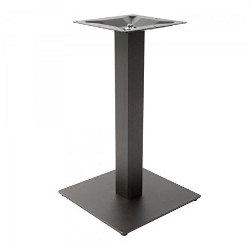 TBC-311-ST, Tischgestell aus Stahl pulverbeschichtet, Tischsäule aus Stahl pulverbeschichtet, Tischplattenhalter aus Stahl,Schwarz