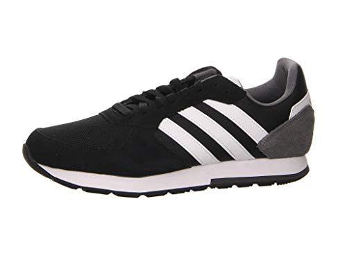 Adidas 8k, Zapatillas para Hombre, Negro (Core Black/FTWR White/Grey Five Core Black/FTWR White/Grey Five), 42 EU