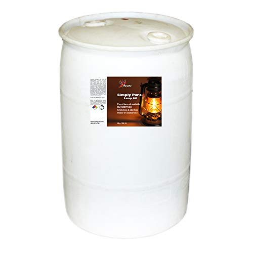 Firefly Bulk Smokeless, Odorless Liquid Paraffin Lamp Oil - Solvent - 55-Gallon Drum