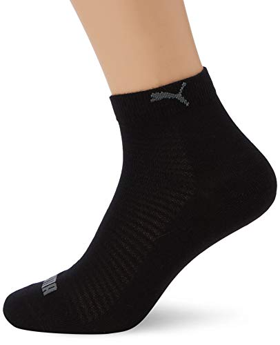 PUMA Damen Quarter 2P Women Socken, schwarz, 39-42