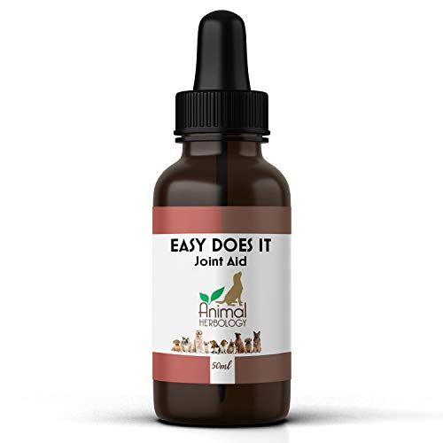 (New) PET JOINT CARE for STIFF, SORE PAINFUL ARTHRITIC JOINTS, EASES PAIN WITH TURMERIC & DEVILS CLAW. 3-4 MONTHS PER BOTTLE. SUITABLE FOR DOGS, CATS, RABBITS, SMALL MAMMALS. PAIN RELIEF.