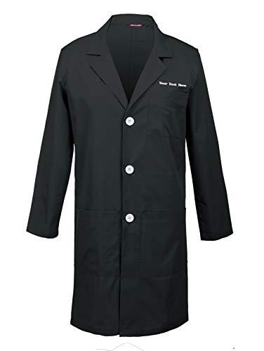 TAILOR'S Personalizado Personalizable Bordado Bata de Laboratorio, Abrigo para Hombres
