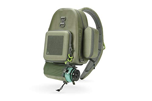 System G Outdoor+ Beck Sling Bundle   Fly Fishing Sling Pack Bag   Shoulder Backpack   Chest Pack   Travel Hiking Causal   Multipurpose Crossbody Daypack for Women Men