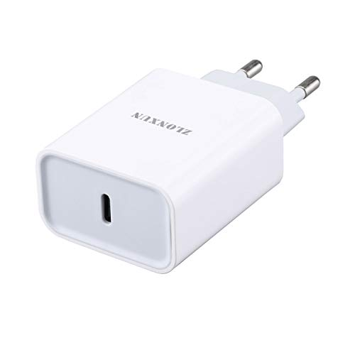 ZLONXUN Chargeur Rapide USB-C Compatible avec iPhone 12/12 Pro/11 Pro/11 Pro Max/11/12 Pro Max/12 Mini, iPad Air 3/4, Mini 5, iPad Pro 11/12.9/10.5 inch, ipad 7/8