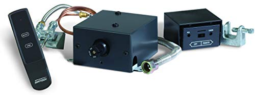 SkyTech Manual On/Off Gas Valve Kit On/Off/Hi/Med/Lo Remote (AF-LMF-RVS)