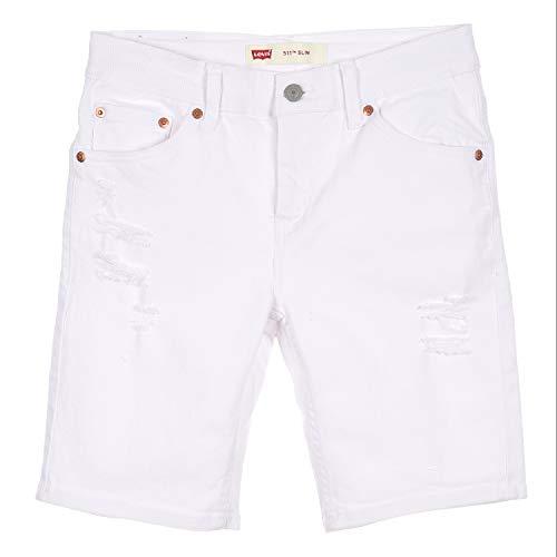 Levi's Kids Lvb Unbasic 511 Short Shorts Jungen White 8 Jahre