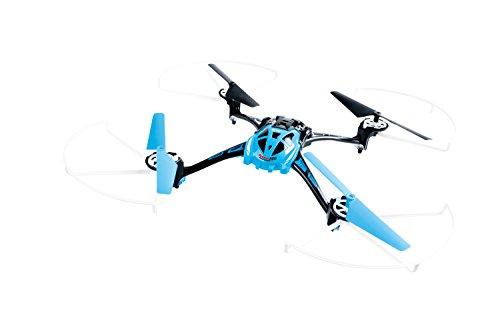XciteRC 15013000 - Ferngesteuerter RC Quadrocopter Rocket 250 3D - 4 Kanal RTF Drohne, blau