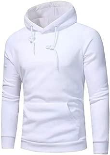 WearIndia Unisex Plain Cotton Hoodies Sweatshirt for Men and Women with Kangaroo Pocket/Hoodie for Men & Women/Warm Hoodie/Unisex Hoodie