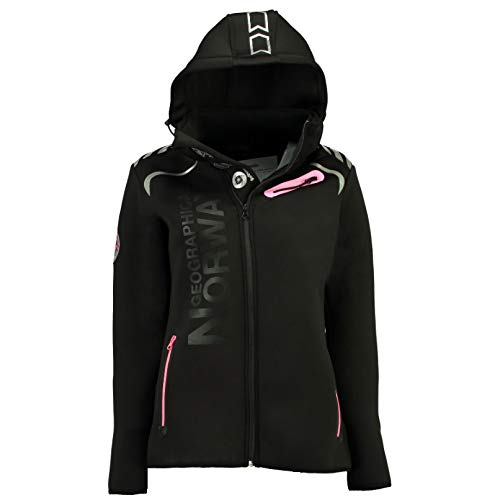 Geographical Norway Parka Revolution Lady 100 Negro/Llamativo RO 4