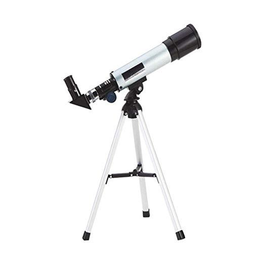 L.TSA Telescopio astronómico Profesional F36050M con trípode telescopio de Zoom monocular al Aire Libre telescopio de observación para Mirar Estrellas de la Luna