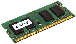Crucial CT25664BF160B Memoria RAM de 2 GB (DDR3L, 1600 MT/s, PC3L-12800, SODIMM, 204-Pin)