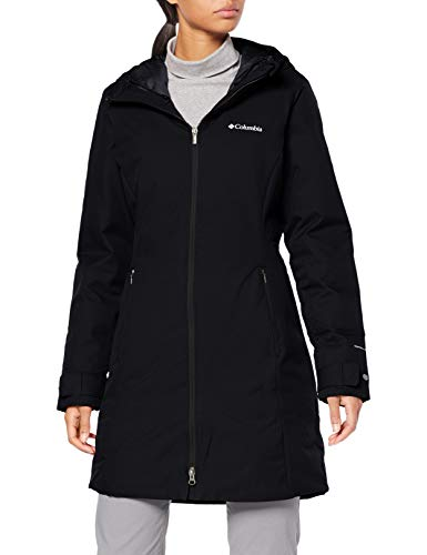 Columbia Autumn Rise Chaqueta Mid, Mujer, Negro, S