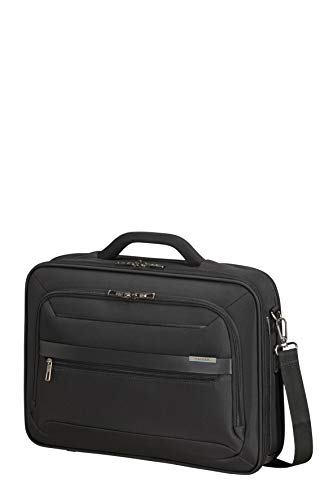 Samsonite Vectura Evo - 17.3 Inch Laptop Bag, 44 cm, 18.5 L, Black