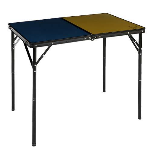 クイックキャンプ×ベイフロー 折りたたみテーブル 90×60cm