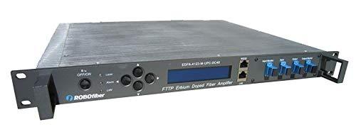 "EDFA-4123 DWDM C-Band EDFA Booster, 23dBm Power and 23dB max gain, SNMP Managed, 1RU 19"" Rack mountable"