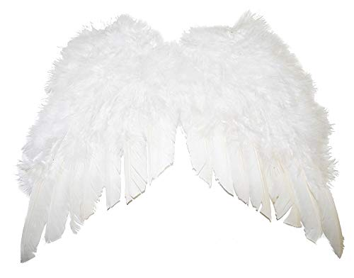 Das Kostümland Engelsflügel 40 x 36 cm - Weiß