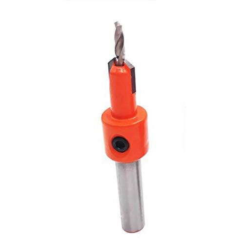 urjipstore S Drill Alloy Head Taper Hole Drill Woodworking Step Drill Screw Installation Salad Drill Woodworking Drill Bit
