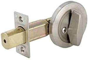 Master Lock DSC0532D Commercial One-Sided Cylinder Deadbolt, Satin Chrome