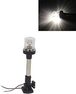 248Mm 12V For Marine Boat Signal Lamp White Anchor Light 360 Degree All Round Stop Navigator Light (248Mm)