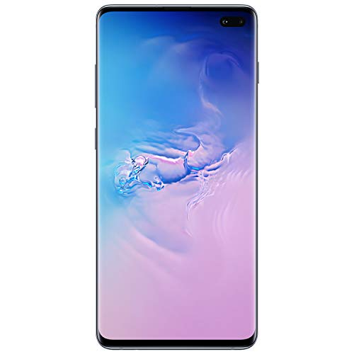Samsung Galaxy S10Factory Unlocked Android Cell Phone | US Version | 512GB of Storage | Fingerprint ID and Facial Recognition | Long-Lasting Battery | U.S. Warranty | Prism Blue