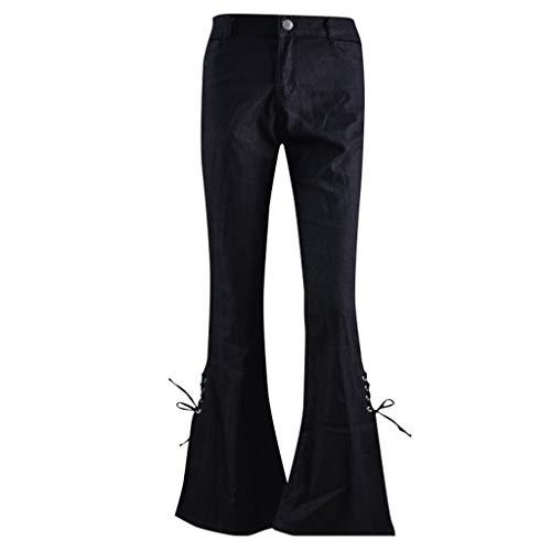 Vectry Piratas Mujer Pantalon Vaquero Pitillo Mujer Pantalones De Camuflaje Mujer Pantalón Bombacho Mujer Pantalon Yoga Mujer Verano Pantalones Mujer Anchos De Verano Pantalon Negro