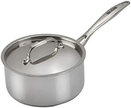 Wholesale Alda Tri Ply Branded goods Stainless Steel Sauce Pan Lid F 14cm with Induction