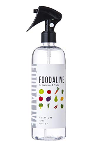 FOODALIVEフードアライブ400ml野菜食品洗浄剤【野菜や果物を洗うミネラル水】つけおき不要鮮度保持残留農薬洗浄除菌