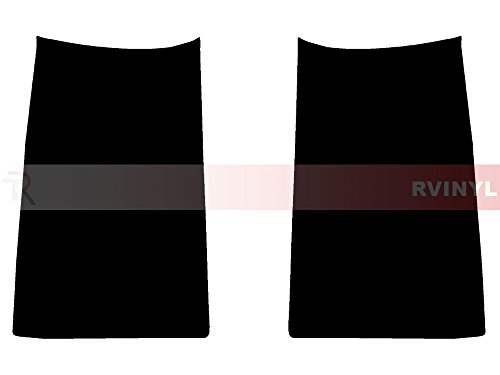 Rtint Tail Light Tint Covers Compatible with Chevrolet Suburban 2015-2019 - Smoke