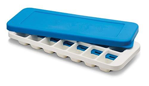 Joseph Joseph Quicksnap Plus - Eiswürfelbehälter mit Deckel - weiß/blau