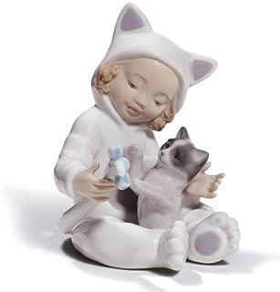 Lladro Porcelain My Playful Kitty