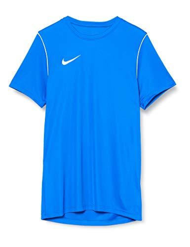 Nike M Nk Dry Park20 Top SS, T-Shirt Uomo, Royal Blue/White/White, L