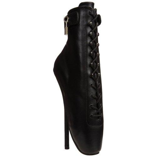 Devious BALLET-1025 Blk Leather UK 4 (EU 37)